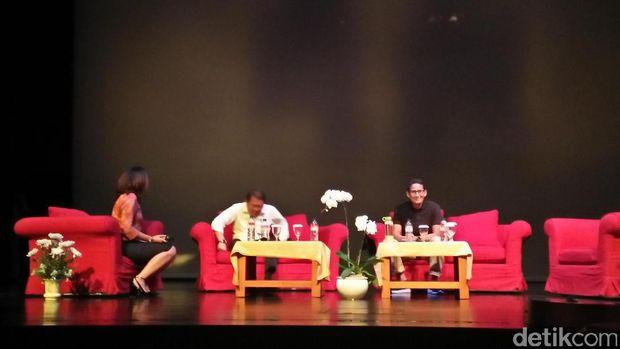 Wagub DKI Jakarta terpilih Sandiaga Uno menghadiri acara IME Conference di British School Jakarta.