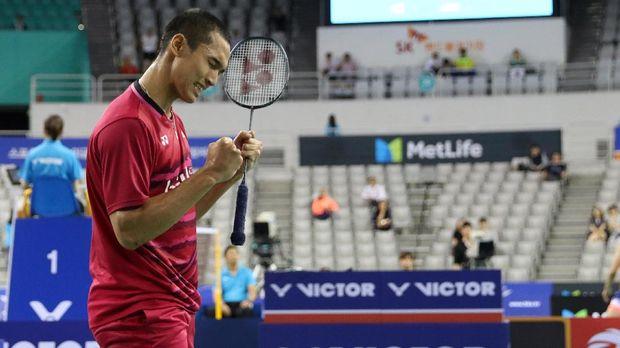 Jonatan Christie akan bertemu dengan Ng Ka Long Angus di babak kedua China Open 2017.