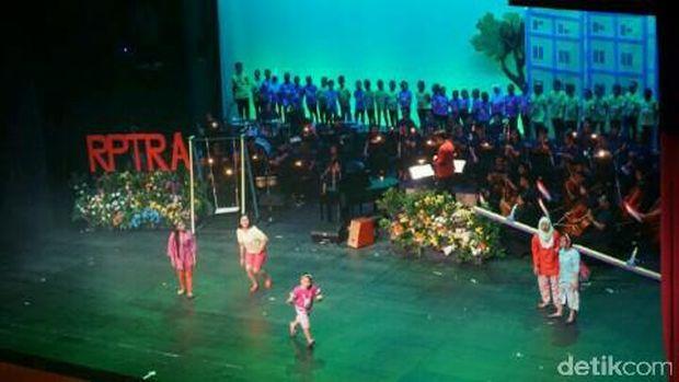 Operet Aku Anak Rusun, Kamis (21/9/2017)