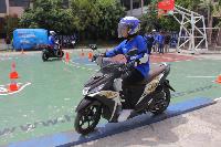 Pelajar Surabaya Suka Yamaha Goes to School Safety Riding