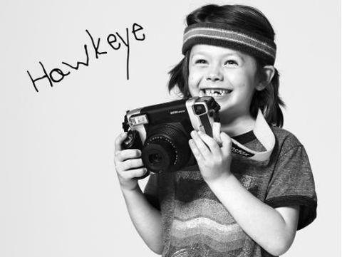 Bocah yang berbakat fotografi/