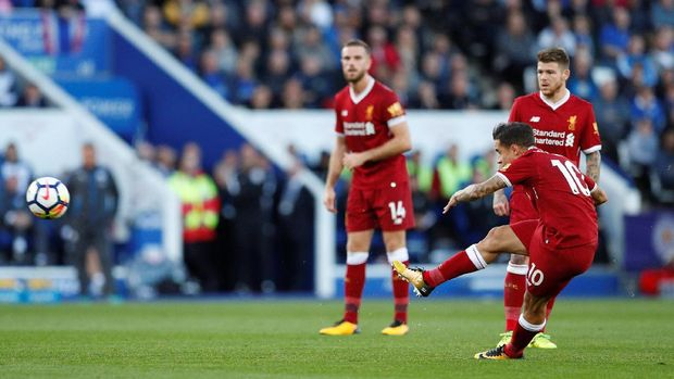 Philippe Coutinho sudah mengemas dua gol dari tiga penampilan bersama Liverpool.