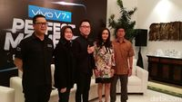 Vivo V7+, Ponsel Pertama Berkamera Depan 24 MP