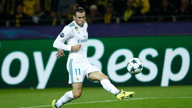 Gareth Bale turut menyumbang gol untuk Real Madrid di Liga Champions musim ini.