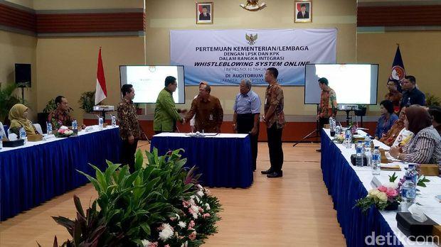 LPSK Luncurkan Whistleblowing Online, Permudah Laporan Korupsi
