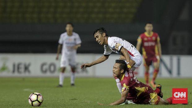 Pupus harapan Bali United untuk juara Liga 1 lantaran faktor non-teknis. (