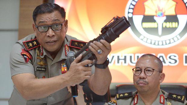 TNI: Amunisi Tajam Pesanan Brimob Polri Bisa Mematikan