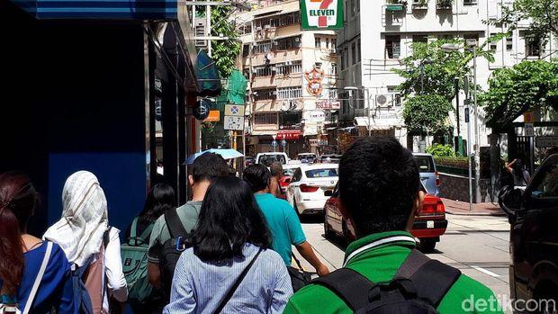 Intip Keseruan d'Traveler di Kota Tua Hong Kong