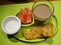 Kids meal fried dory yang cocok buat anak.