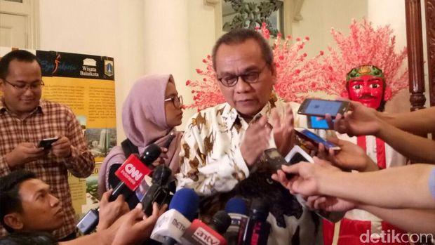 Image result for Wakil Ketua DPRD DKI M Taufik (Marlinda-detikcom)