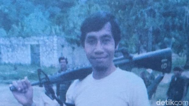 Ronny Muaya (Repro: Operasi Seroja)