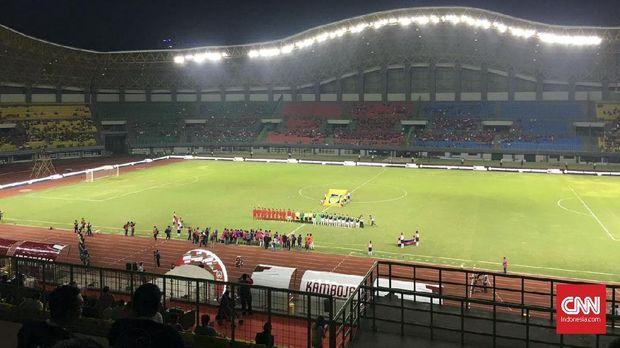 Stadion Patriot Candrabhaga berpotensi menggelar pertandingan level Asia Tenggara pada 2018.