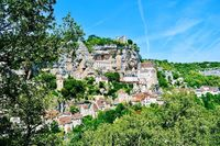 Desa Rocamadour di Prancis
