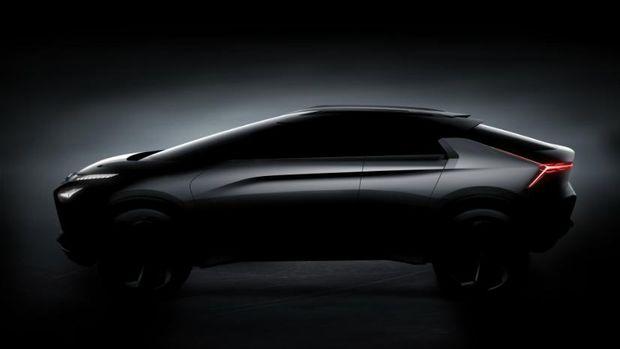 SUV Listrik Mitsubishi Siap Dipajang