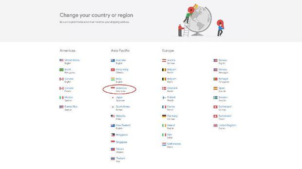 Google Akhirnya Buka Toko Resmi di Indonesia