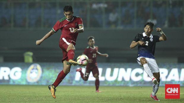 Lerby Eliandry bakal menjadi ujung tombak Timnas Indonesia melawan Timnas Islandia.