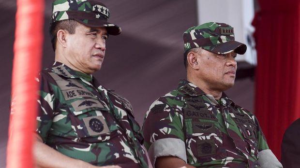 Saat Gatot dan Jokowi Bicara soal Kesetiaan di HUT TNI