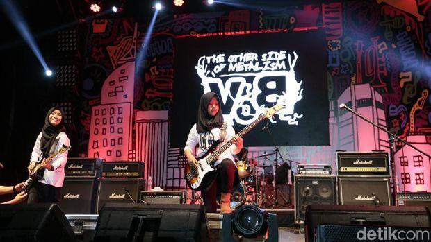 Voice of Baceprot Gempur Synchronize Fest 2017