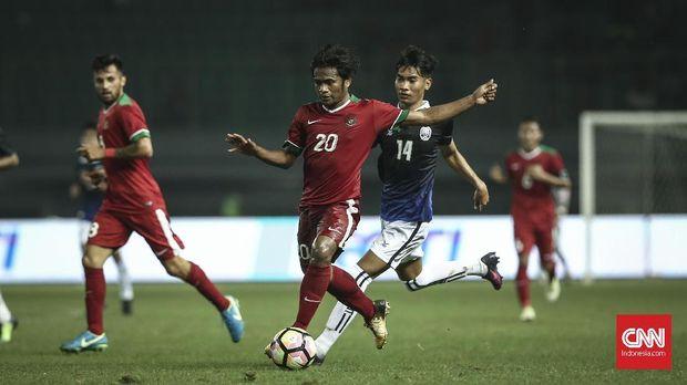 Timnas Indonesia belum pernah menjajal tim-tim bagus sepanjang 2017. (
