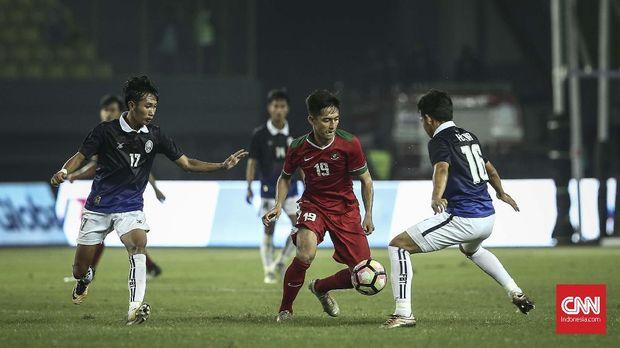 Hanis Saghara merupakan salah satu bintang Timnas Indonesia U-19 ketika masih dilatih Indra Sjafri.