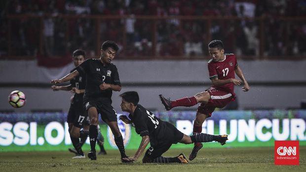 Syahrian Abimanyu merupakan salah satu gelandang andalan Timnas Indonesia U-19. (