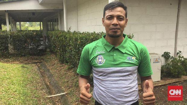 Bejo Sugiantoro tengah mengikuti kursus kepelatihan Lisensi B AFC di Sawangan, Oktober ini. (