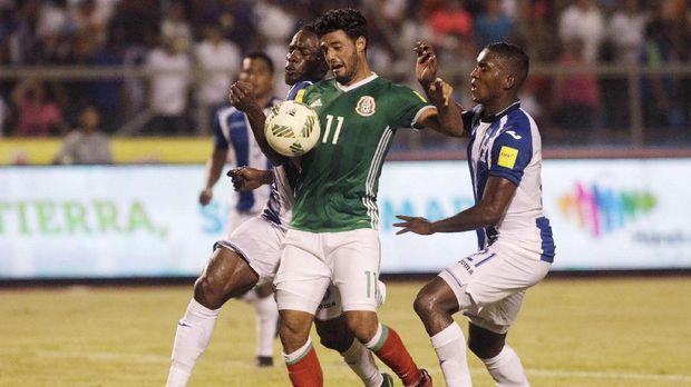 Honduras melaju ke babak play-off Piala Dunia 2018, usai mengalahkan Meksiko.