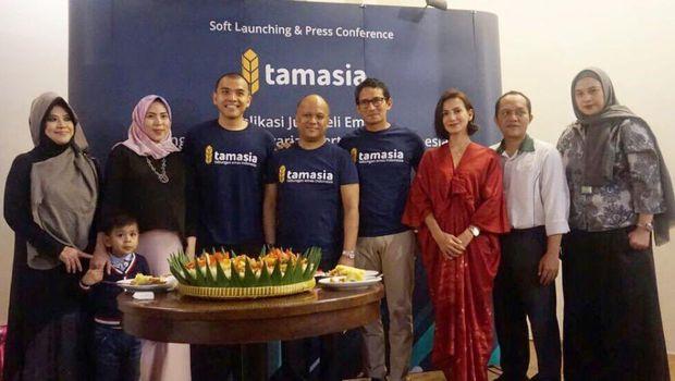 Tamasia, Aplikasi Digital Jual Beli Emas Syariah Pertama