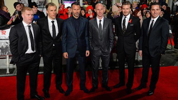 Class of 92 menjadi andalan Sir Alex Ferguson ketika melatih Manchester United.