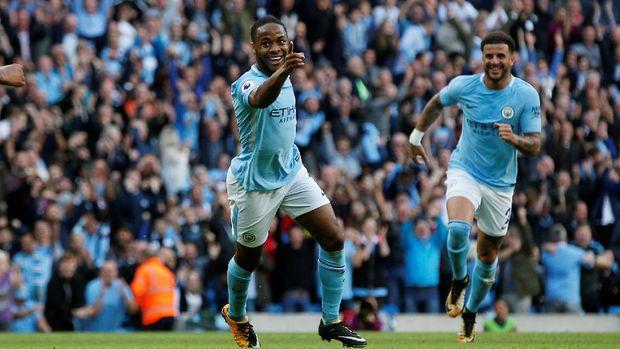 Manchester City jadi tim yang belum terkalahkan di Liga Primer Inggris musim ini.