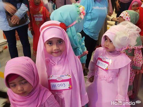 Hijab hunt di Festival Bunda Happy/