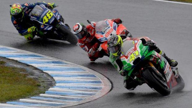 Valentino Rossi mengalami kesulitan sepanjang akhir pekan MotoGP Jepang 2017.