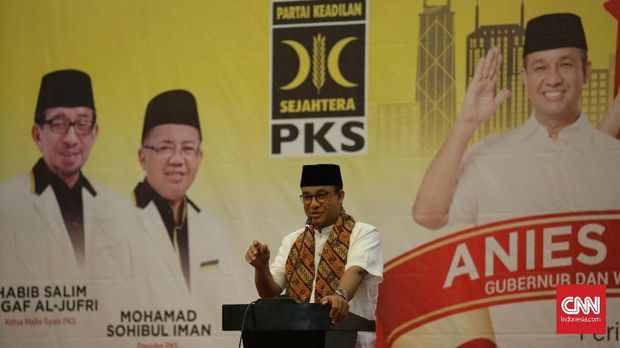 Anies: Tantangan Jakarta Bayak, Saatnya Mulai Bekerja