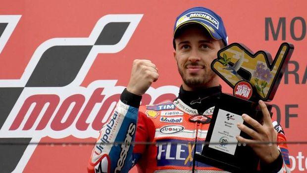 Andrea Dovizioso memasuki seri terakhir MotoGP 2017 dengan tertinggal 21 poin dari Marc Marquez.