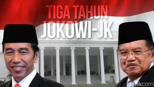 Tiga Tahun Jokowi-JK
