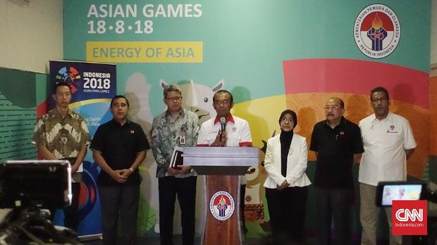 Kemenpora RI melalui Sesmenpora Gatot S. Dewa Broto kembali mengingatkan Tupoksi KONI dan PB di Asian Games 2018. (