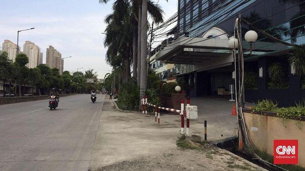 Hotel Alexis Dijaga Ketat, Petugas Keamanan Usir Jurnalis