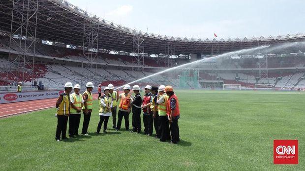 Stadion Gelora Bung Karno Senayan bakal jadi venue utama Asian Games 2018. (