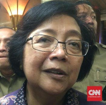 Kabar Gembira Orang Utan dari Menteri Siti untuk Istana