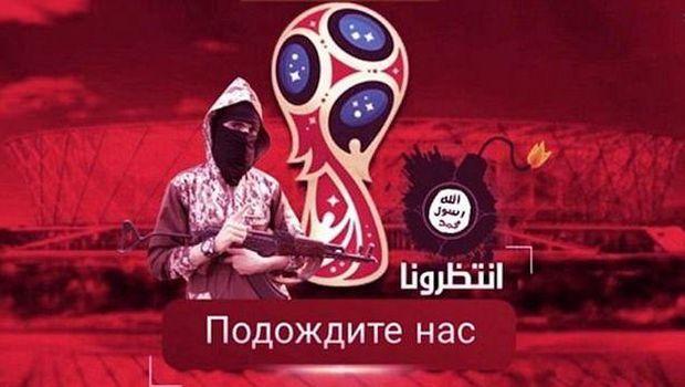 Messi Menangis Darah di Poster Ancaman ISIS untuk Piala Dunia 2018