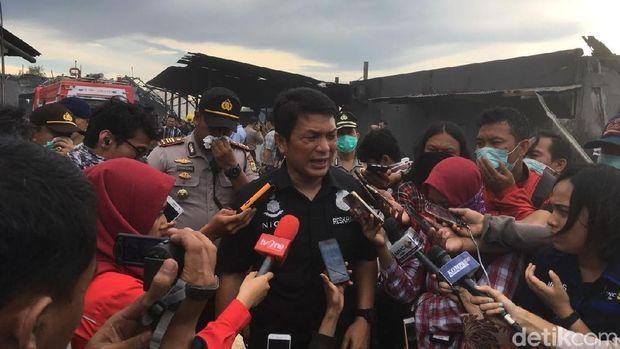 Direktur Kriminal Umum Polda Metro Jaya Kombes Nico Afinta