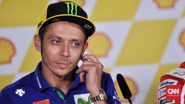 Valentino Rossi terhindar dari cedera serius.