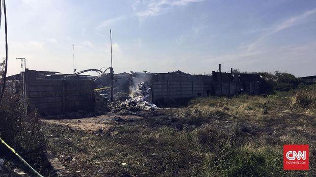 Korban tewas akibat kebakaran hingga Sabtu (28/10) berjumlah 47 orang.