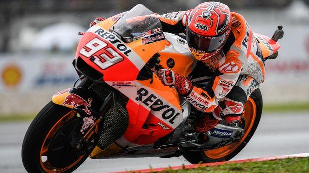 Marc Marquez bisa merayakan titel juara dunia MotoGP musim ini di depan pendukungnya sendiri.