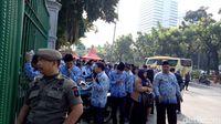 PNS DKI Jakarta terlambat mengikuti upacara peringatan Hari Sumpah Pemuda