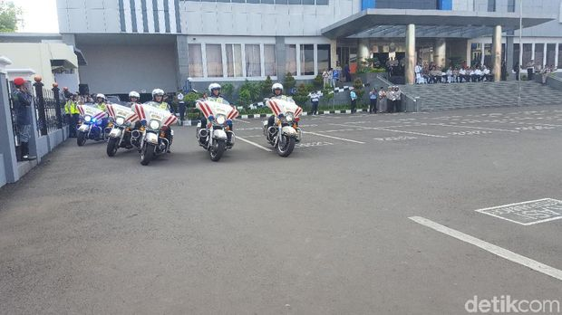 Suasana Gelar Pasukan Operasi Zebra 2017