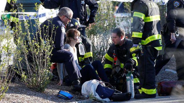 Serangan Truk Tewaskan Para Pejalan dan Pesepeda di New York