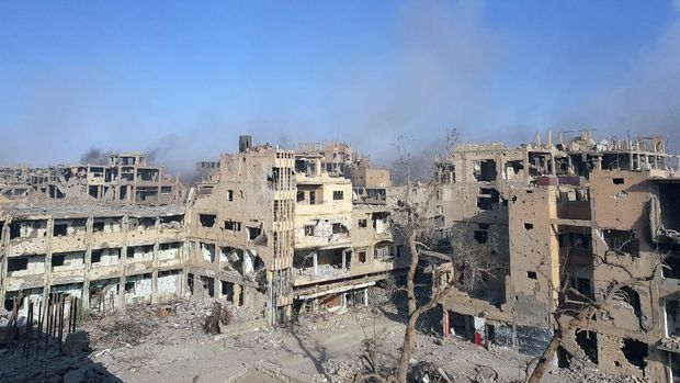 Situasi Deir al-Zor, Suriah.