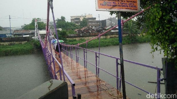 Jembatan Asy Syura yang rusak telah diperbaiki