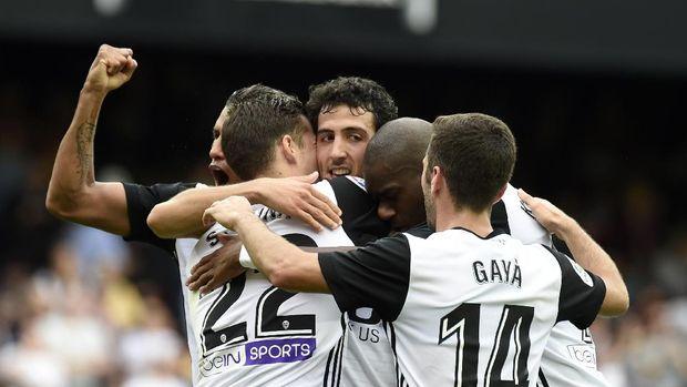 Valencia sejauh ini jadi pesaing utama Barcelona dalam perburuan titel La Liga.